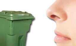 poubelle vide odeur