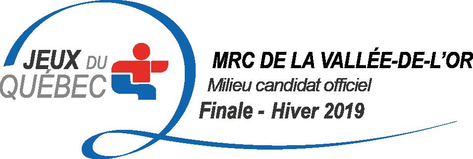LA MRCVO NOMMÉE « MILIEU CANDIDAT OFFICIEL » POUR  L'OBTENTION DES JEUX DU QUÉBEC, HIVER 2019