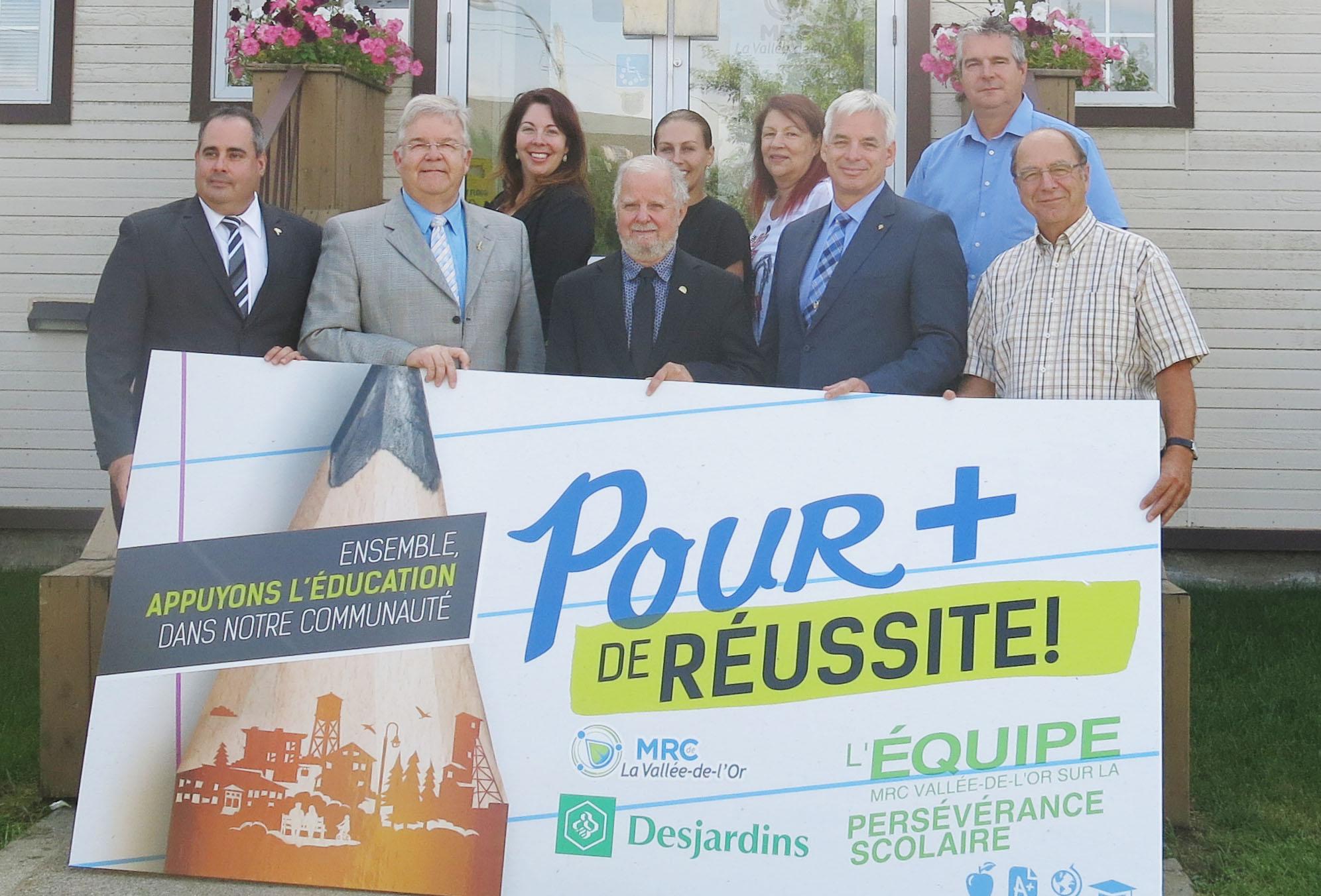 La MRC de La Vallée-de-l'Or s'engage  à soutenir la réussite!